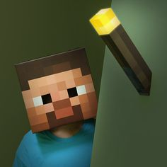 $34.99 Minecraft Light-Up Torch