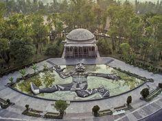 Diego Rivera's Tlaloc, Mexico City.