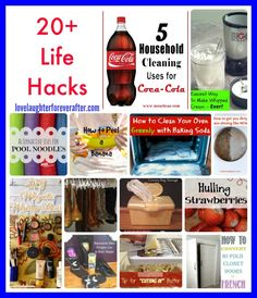 Fix stuff and make life easier with these cool tips and tricks. Check out my favorite Life Hack Tips.