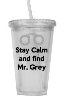 50 shades of Grey Tumbler by mrsmo5 on Etsy, $12.00