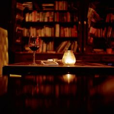 Wine + books = love.