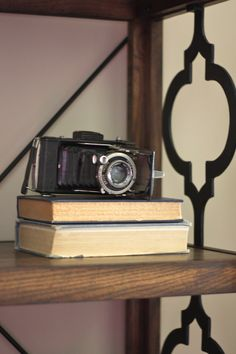 Vintage camera from #Goodwill in My House of Goodwill. #thrift #home #decor #Kodak
