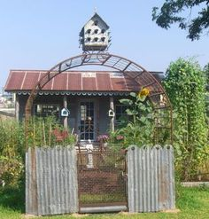 recycled shed