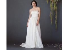 Fair Trade Classic Strapless Wedding Gown | Green Bride Guide