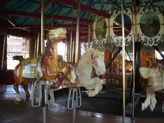 I love this place. Binghamton,New York, the land of carousels.