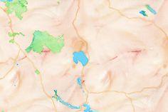 Province Lake watercolor 1,500 x 1,000px 43.6932, -70.9878