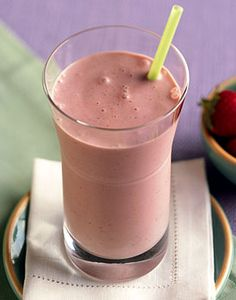 Coconut, Strawberry, and Banana Smoothie