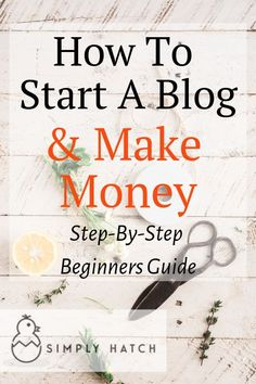 Find your passion and start blogging! This step-by-step guide on how to start a blog will get you set up and ready to start blogging in 10 minutes or less. I'll show you how to come up with an idea, choose your blogging platform, pick a domain name, find web hosting, select a theme and write your first post!