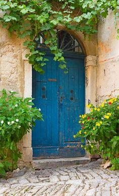 Rovinj, Croatia door