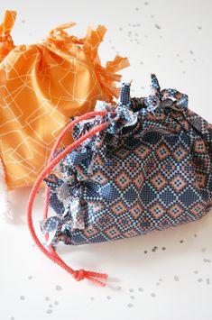 DIY: no sew favor bags