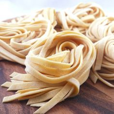 Fresh Homemade Pasta - Simply delicious tender chewy pasta which you will not able to have pasta from package anymore