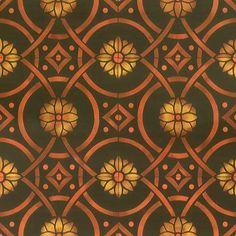 Wall Stencils | Eastern Tile Stencil | Royal Design Studio