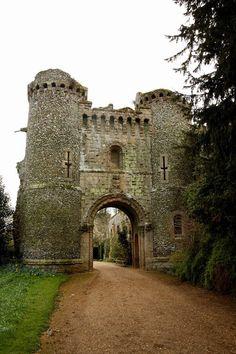 Medieval Gate, Benington Lordship, England photo by nickistock