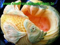 step by step on how to carv this Pumpkin Fish.