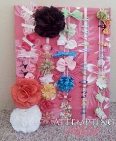For hair bows