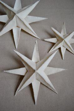 Felt Star Pendant  - the purl bee