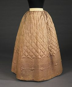 Petticoat  1840-1855  The Metropolitan Museum of Art