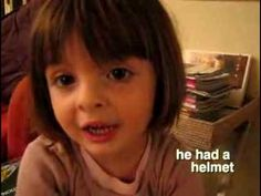 """Adorable little French girl breathlessly recounting """"Winnie The Pooh""""... too cute!"""