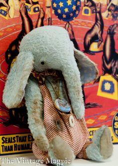 ☃ Plush Toy Preciousness ☃  Circus Elephant