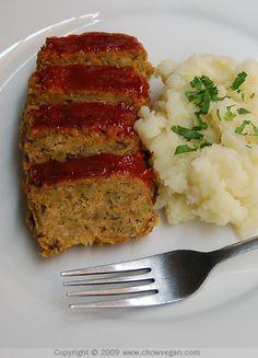 VeganMoFo: Home-style Vegan Meatloaf | Chow Vegan