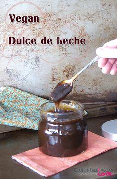 Vegan Dulce de Leche Caramel Sauce l Gluten-Free Vegan Love