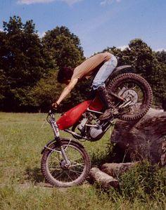 Trial bike Vintage