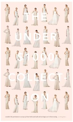 Gorgeous wedding gowns for under $1000 http://rstyle.me/n/nygcvnyg6