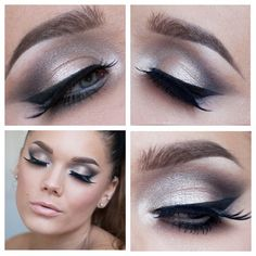 Makeup look #lindahallberg