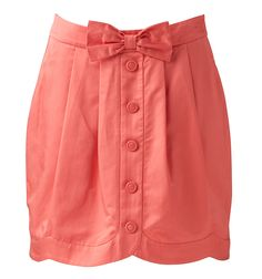 Scallop Bow Skirt, Forever New
