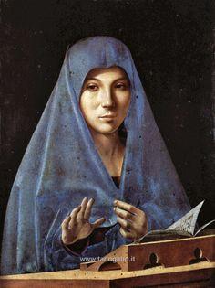 One of mine favorite painters, Antonello da Messina: L'annunciata