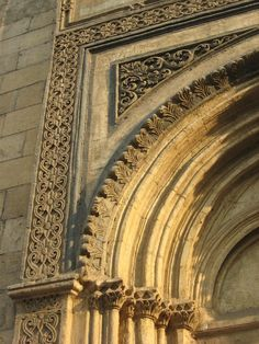 Architectural details...
