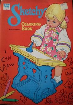 Sketchy Coloring Book Whitman