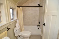 Dormer bathroom