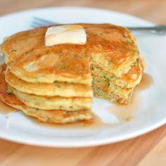 Sweet Zucchini Pancakes