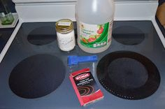 How to Clean a Glass Stove Topi