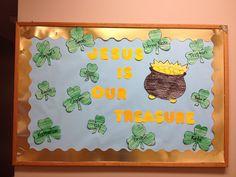 March bulletin board!