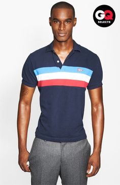 Gant by Michael Bastian Chest Stripe Polo #Nordstrom #GQSelects