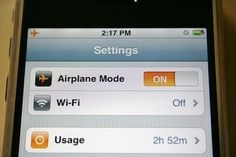 // If you put your phone in airplane mode, it will charge twice as fast.