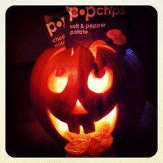 halloween snack-o-lantern.