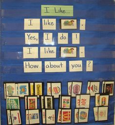 environmental print pocket chart environmental print, literaci, pocket chart poems, pocket charts, celebr kindergarten, kindergarten read, environment print, print pocket, pocket chart ideas