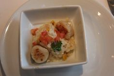 Scallop Risotto on Oasis of the Seas http://www.premiercustomtravel.com/cruises/royalcaribbean.html #Cruising #Travel #Food #RoyalCaribbean #OasisoftheSeas #Oasis
