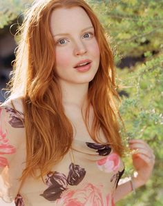 In my dreams I have red/orange hair - that looks natural - not henna'd or dyed.