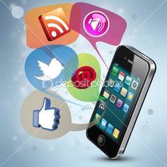 Social Media | Stock Photo © Engin Korkmaz #8699839