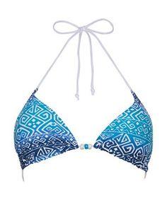 Crochet Bikini Top - Triangle Shape Motif Crochet Geek