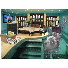 this is by far the coolest bedroom ever i tend to agree swim sleep