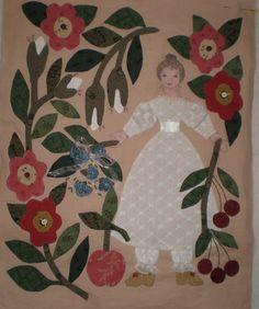 bride quilt, quilt blocks, appliqu quilt, war bride