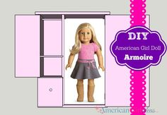 American Girl Doll Storage/Armoire Tutorial