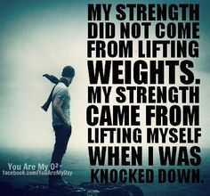Weights + Yourself... #Affirmations