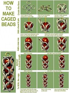 How to Make Cage Beads, jewelry DIY  http://tech.beads.us/details-How-to-Make-Cage-Beads-2550.html