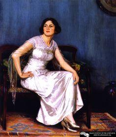 The Artist's Wife  Joseph Kleitsch
